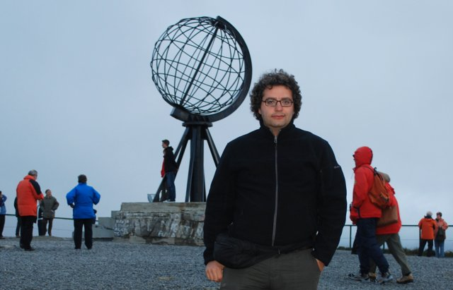 Me at north cape, Norway, in 2010
