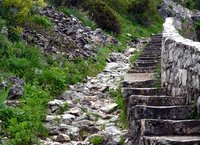 Steps to the Kotor fortress