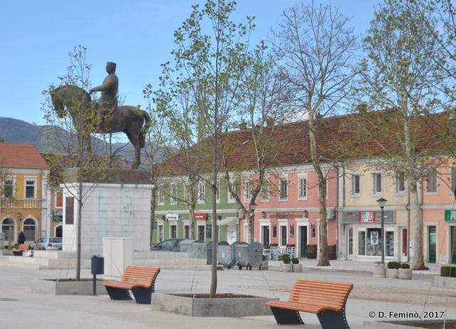 Freedom square (Nikšić, Montenegro, 2017)