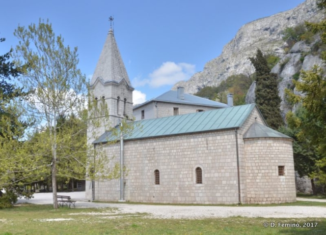 Ostrog lower monastery (Montenegro, 2017