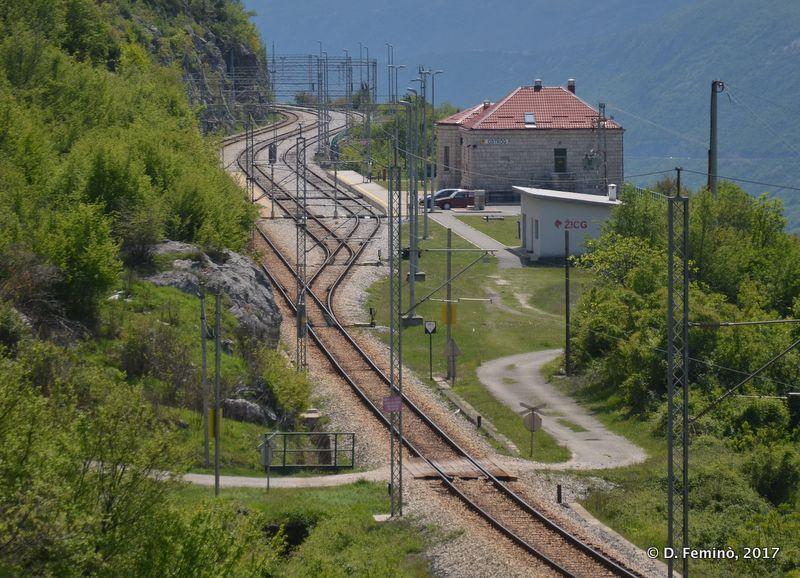 Railway station (Ostrog, Montenegro, 2017)