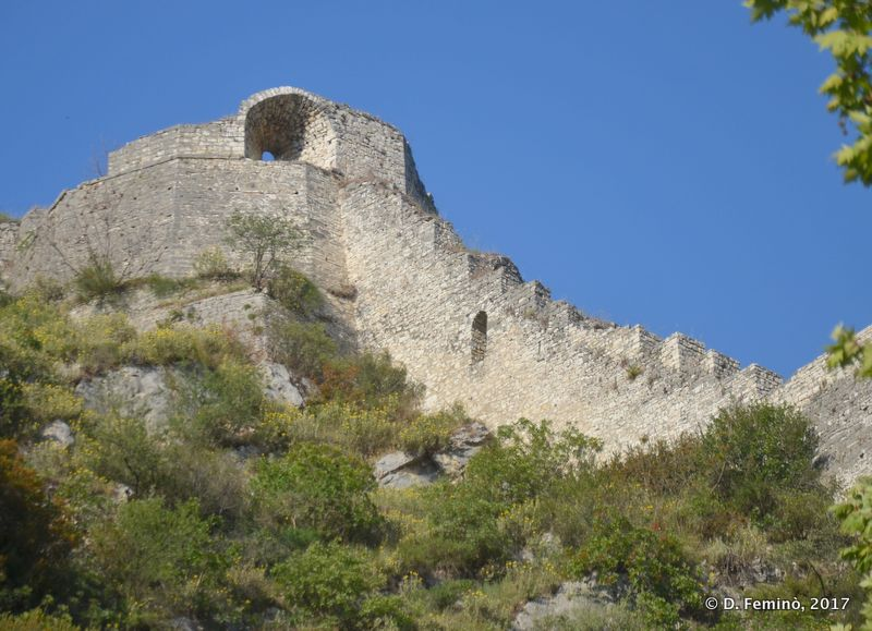 Rampants of the castle (Berat, Albania, 2017)