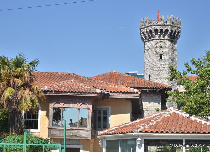 Clock tower (Shkodër, Albania, 2017)