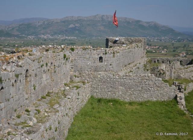 Walls of Rozafa Castle (Shkodër, Albania, 2017)