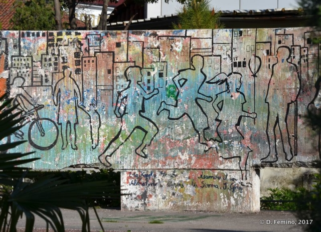 Murales (Shkodër, Albania, 2017)