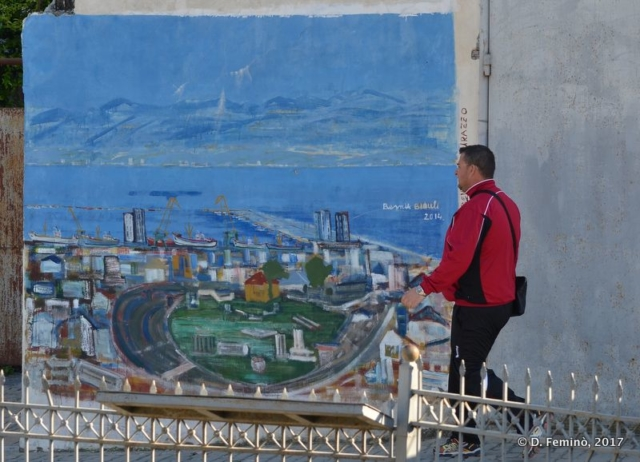 Wall painting (Durrës, Albania, 2017)