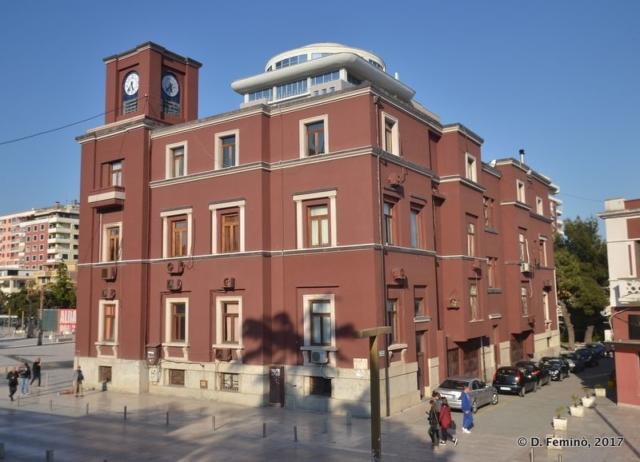 Town hall (Durrës, Albania, 2017)