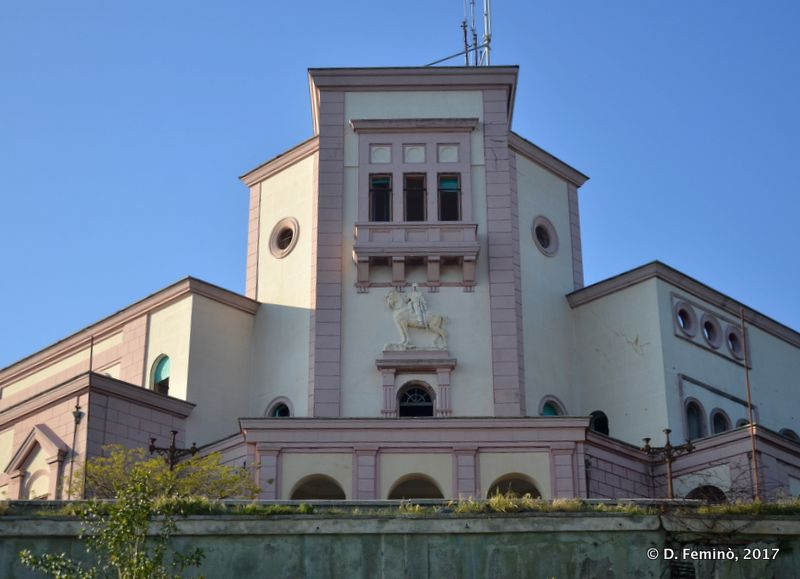 Former royal palace (Durrës, Albania, 2017)