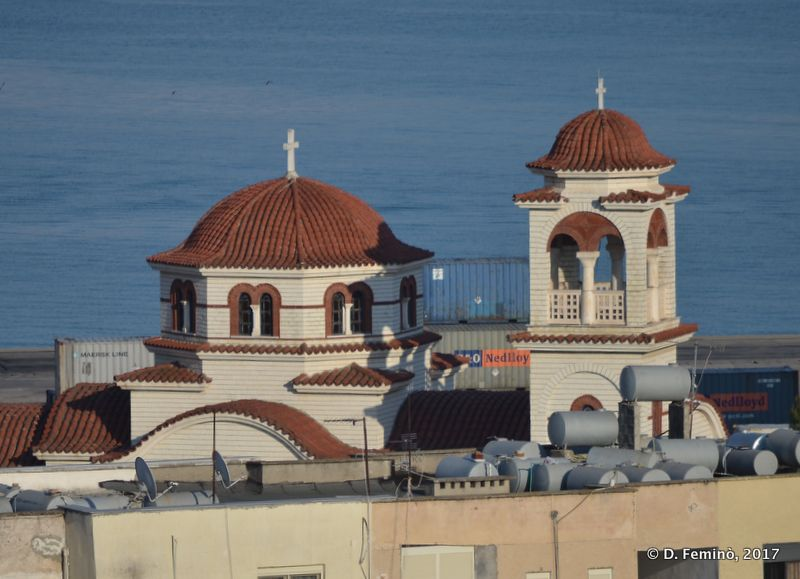 Orthodox cathedral (Durrës, Albania, 2017)