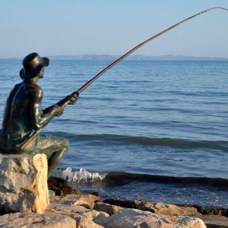 Foto del lago Scutari