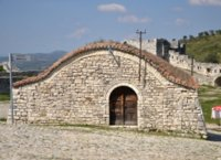Building in Berat castle