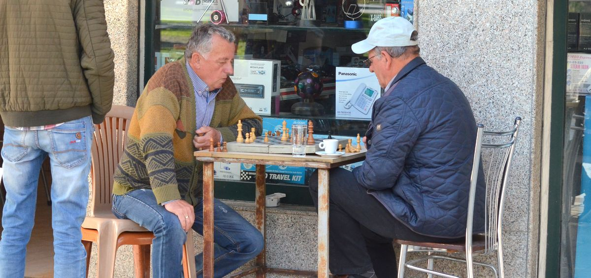 Chess players in Berat