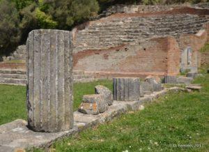 Ionian columns (Apollonia, Albania, 2017)