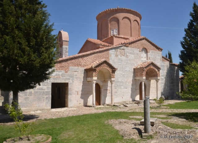 Church of Saint Mary (Apollonia, Albania, 2017)