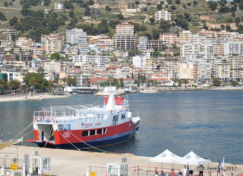Ferry to Corfu (Saranda, Albania, 2017)