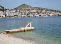 Beach in Saranda