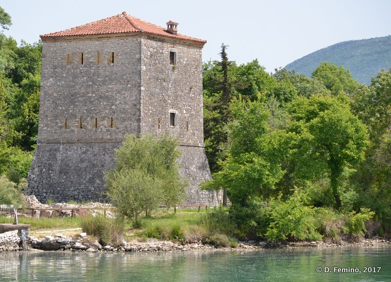 Venetian tower (Butrint, Albania, 2017)