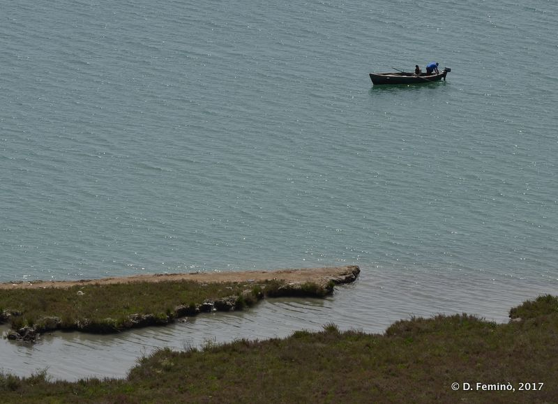 Boat in Vivari channel (Butrint, Albania, 2017)
