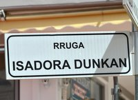 Isadora Duncan street