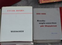 Enver Hoxha books