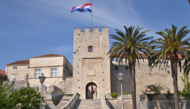 Korčula town gate