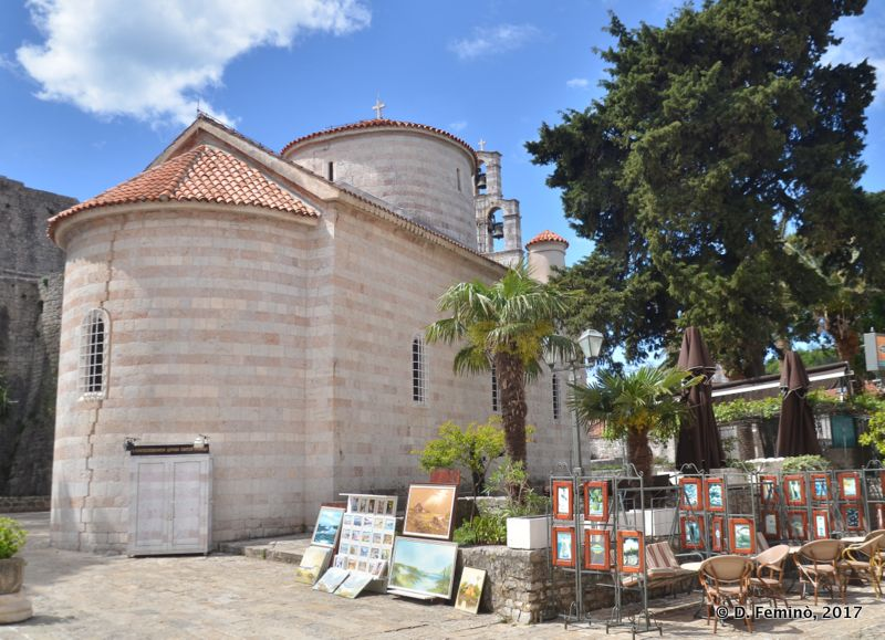 Church of the holy trinity (Budva, Montenegro, 2017)