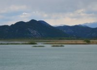 Lake Skadar from the bus window