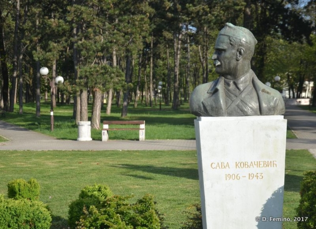 Monument and park (Nikšić, Montenegro, 2017)