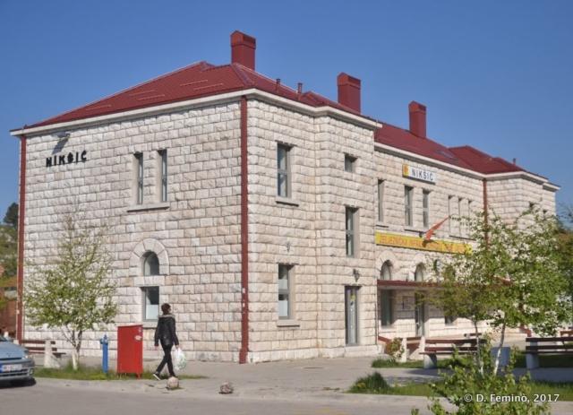 Railway station (Nikšić, Montenegro, 2017)