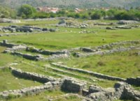 Ruins of Roman town of Doclea