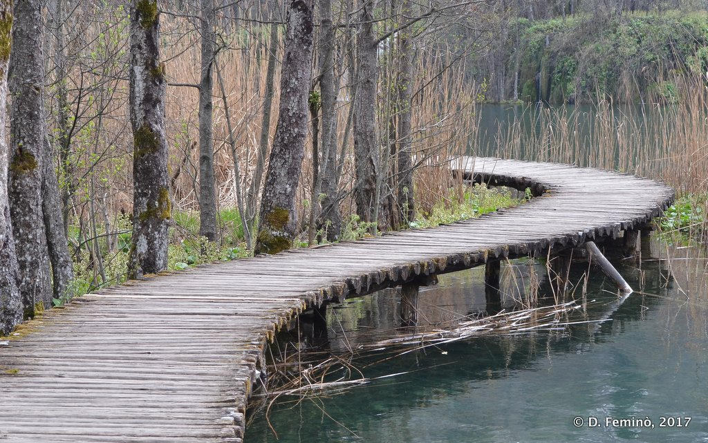 Plitvice National Park, Wooden Gangway