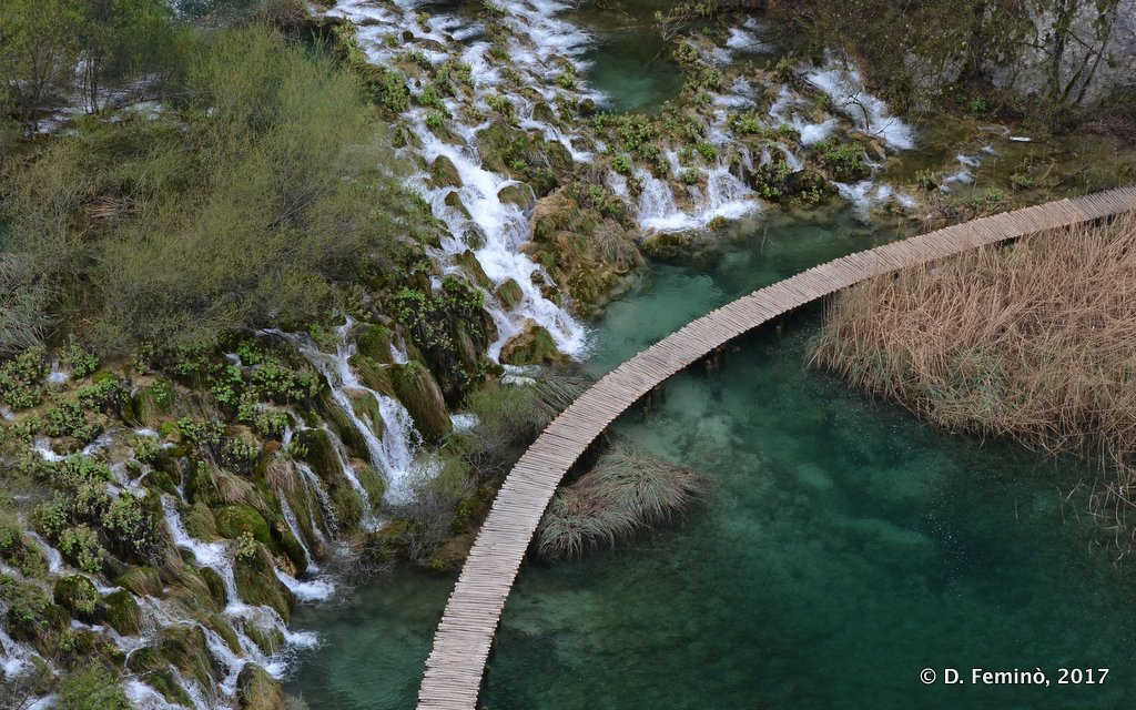 Plitvice National Park, View from the top