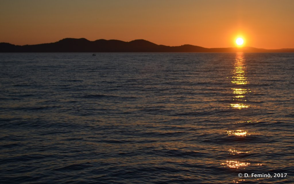Zadar, sunset
