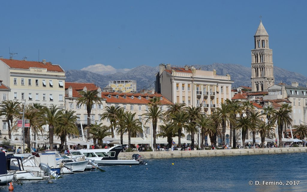Split, Seaside skyline