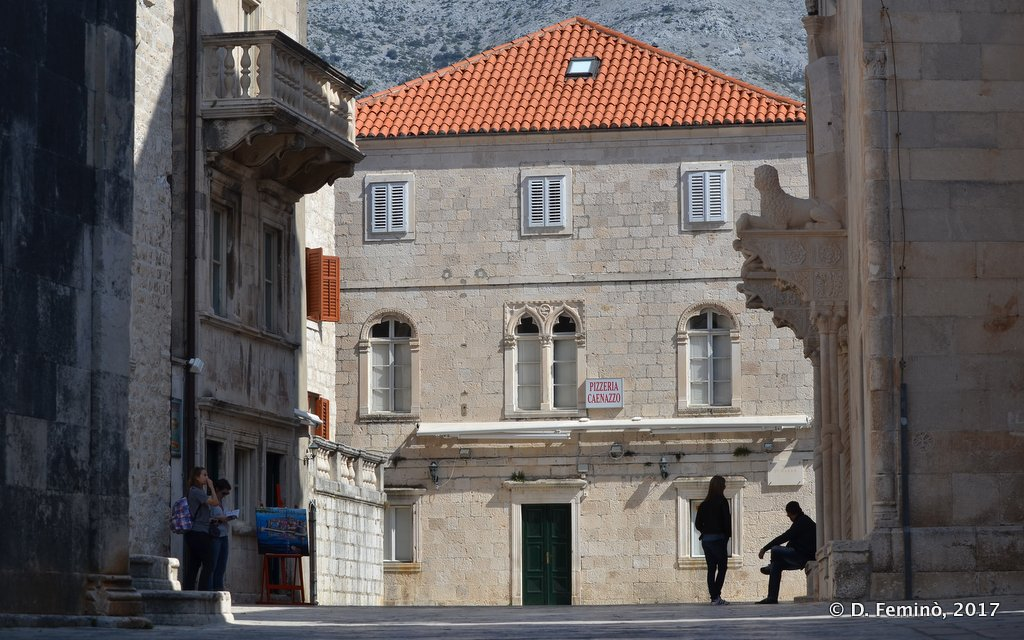Korčula, trg Svetog Marka