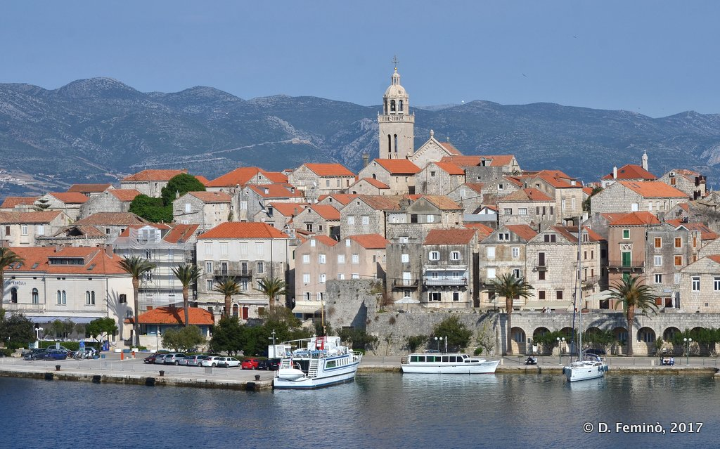 Korčula, the old town