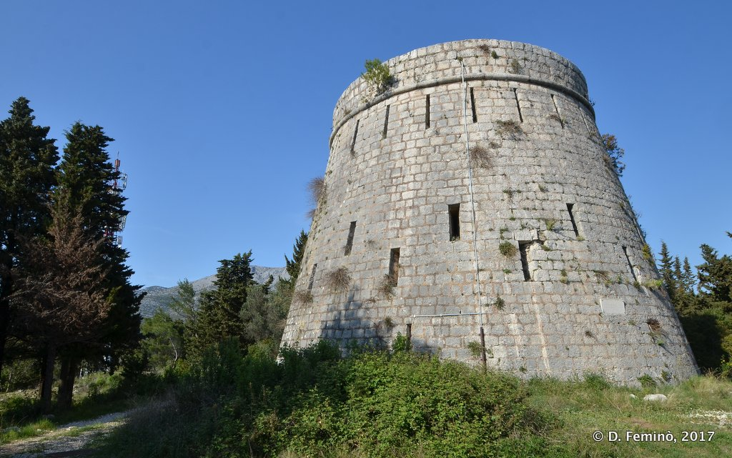 Korčula, tower of the castle