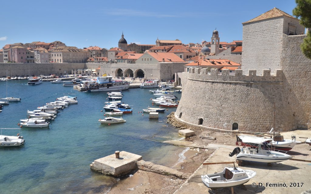 Dubrovnik, the old harbour