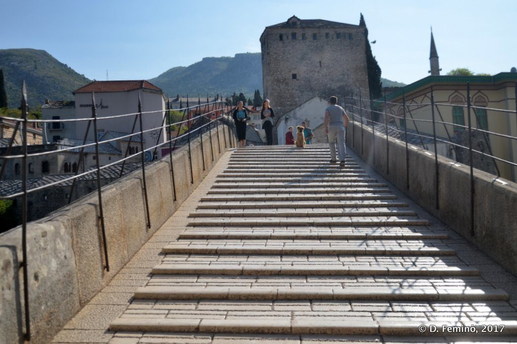 The old bridge (Mostar, Bosnia, 2017)