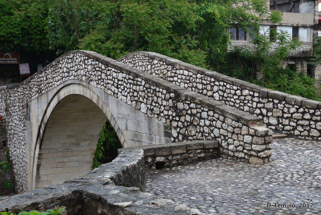 Mostar, Bosnia, Kriva Cuprija Bridge