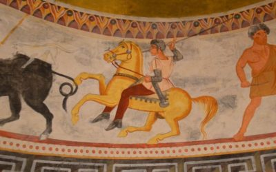 Frescos in Alexandrovo Tomb