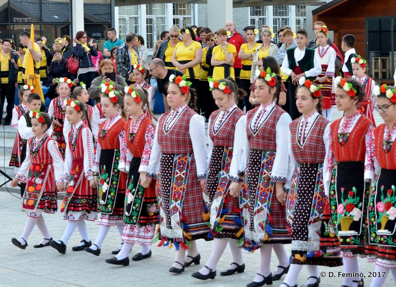 Folk group (Burgas, Bulgaria, 2017)