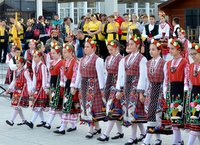 Folk group in Burgas