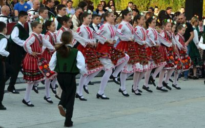Folk dances in Burgas