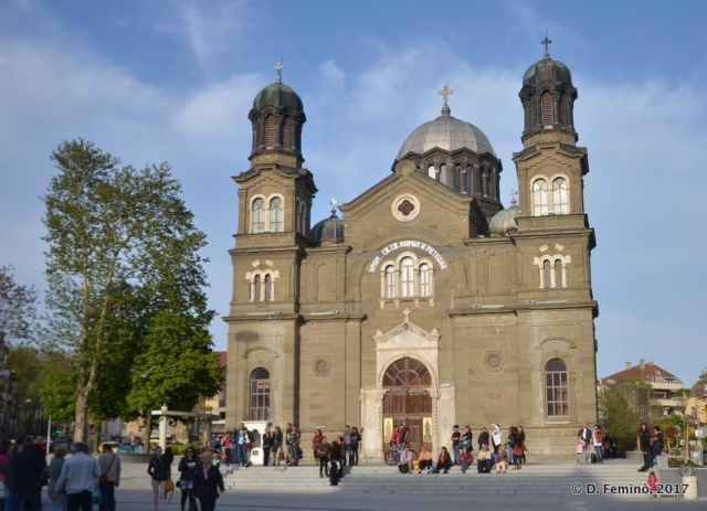 Cathedral of Cyril and Methodius (Burgas, Bulgaria, 2017)