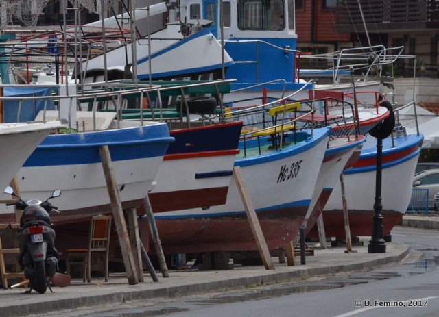 Fishing boats (Nesebar, Bulgaria, 2017)