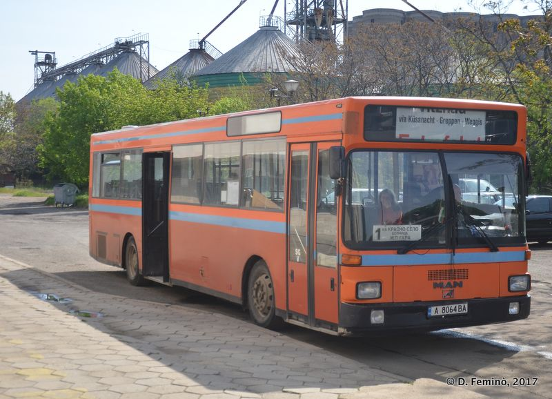 Bus from Karnovo Station
