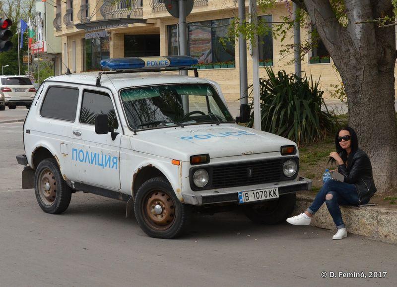 Police Lada (Varna, Bulgaria, 2017)