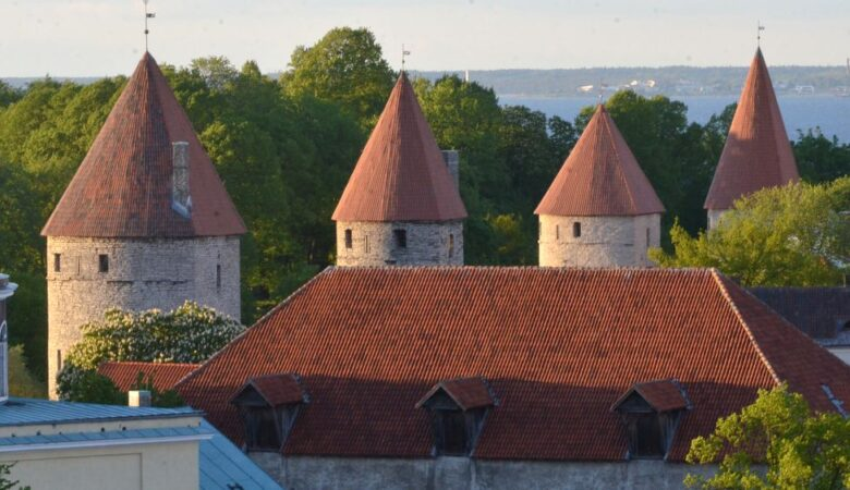 Towers in Tallinn