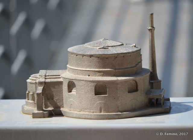Model of Rotunda (Thessaloniki, Greece, 2017)